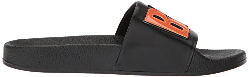 Women's black boy Slide Edelman Flynn by Circus Sam Sandal bye Bye Black Boy qt1Bw