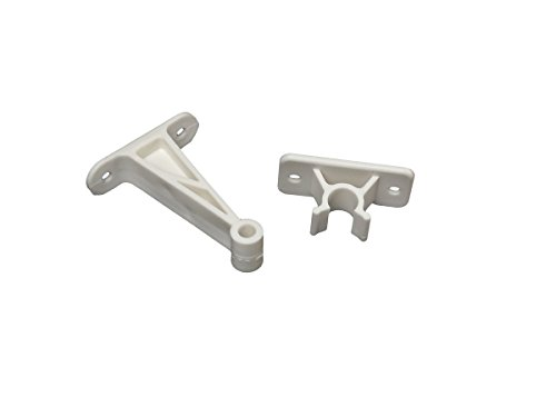 (RV Designer E241, Plastic Door Holder, Clip Style, 3 inch, White, Entry Door Hardware)
