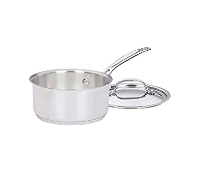 Cuisinart Chef's Classic Stainless 1-Qt. Covered Saucepan