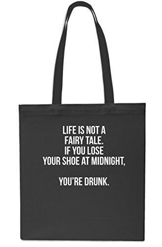 10 x38cm Black litrest Lose You Fairy 42cm Beach Bag Midnight If at Red Drunk You're is Life Tote Gym A Tale Your Shopping Small Shoe Not C114Rq