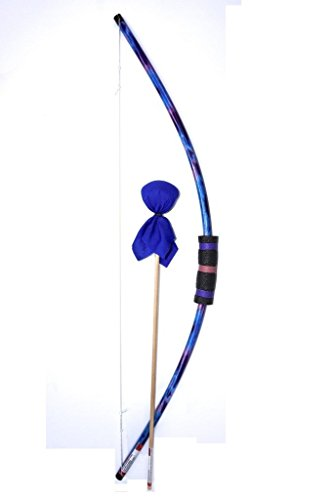 Two Bros Bows Blue Tie-Dye Bow with Cobalt Arrow Archery Toy Set For Sale
