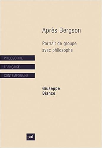 En ligne Après Bergson pdf