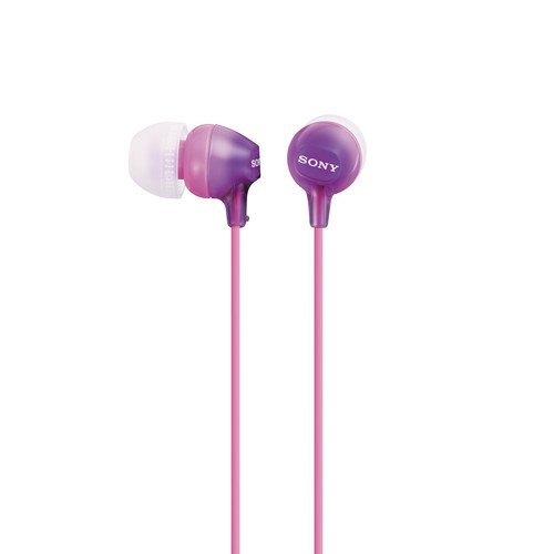 Sony MDREX15LP Fashion Color EX Series Earbuds (Violet)