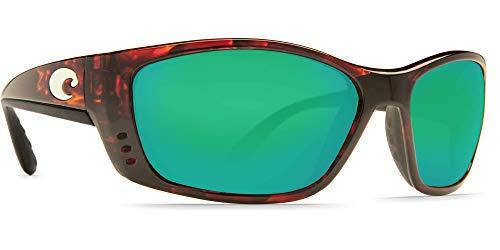 - Costa Fisch Readers Tortoise Plastic Frame Green Lens Men's Sunglasses FS10OGMP150