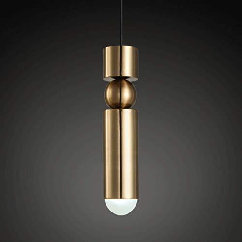Lustres Lustre, Lustre En Or Brossé, Simple, 5W LED G9 Perle De La Lampe, Chevet Salle à Manger