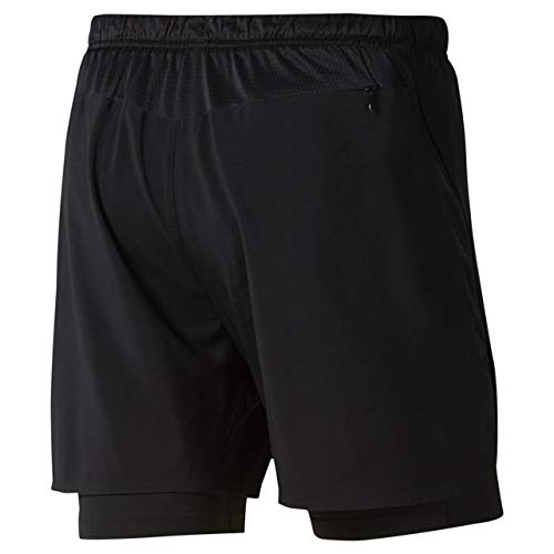 1667ee76 Amazon.com : Reebok Running Essentials 2-in-1 Short : Clothing