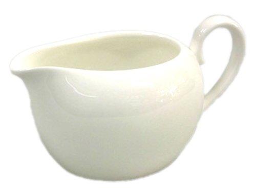 (Noritake Bone China ensemble white creamer ( small ) T50528A / 9640)