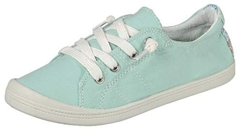 Forever Link Women's Classic Slip-On Comfort Fashion Sneaker, Turquoise, 7.5