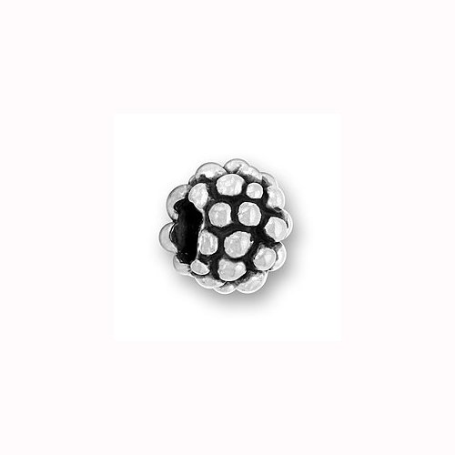 Charm Factory Pewter Grapes Bead