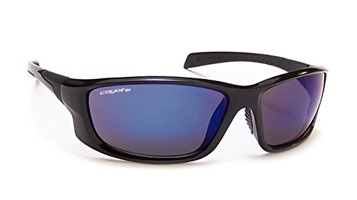 Polarized Street and Sport Sunglasses ,Black Frame/Gray/Blue - Street Sunglasses M