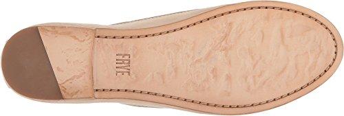 FRYE Damen Carson Ballet Flat Creme Antique Soft Vintage