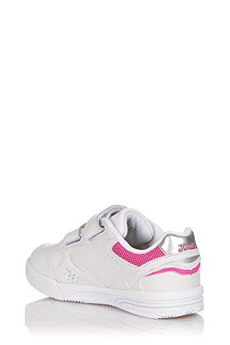 JOMA W.OTTOW Shoe Fall Winter ZAPATOS COLEGIAL INFANT Blanco/Rosa