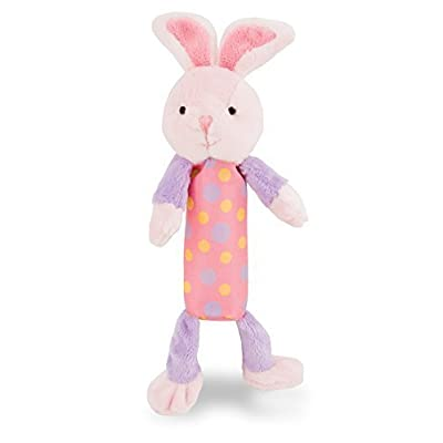 "Rich Frog Squeak Easy Bunny, Stuffed Animal, Educational Baby Crinkle and Squeaky Plush Toy - 8.5"": Toys & Games"