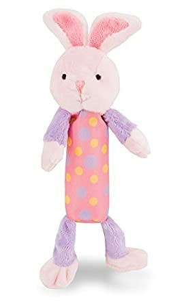 Rich Frog Squeak Easy Bunny Stuffed Animal 8.5 Educational Baby Crinkle and Squeaky Plush Toy Educational Baby Crinkle and Squeaky Plush Toy 8.5