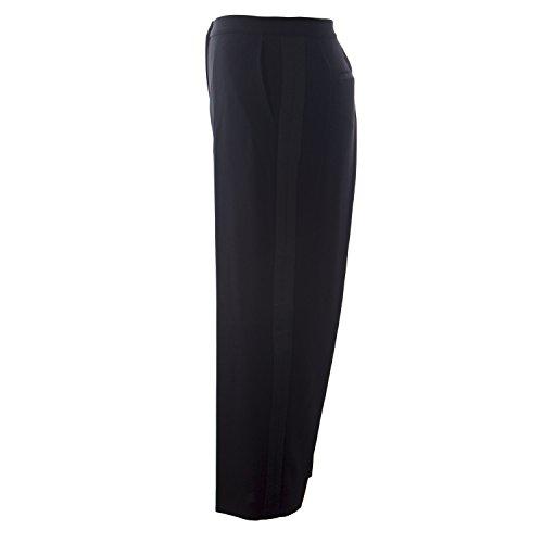 328562869b2 Marina Rinaldi Women s Radar Side Stripe Dress Pants Black hot sale ...