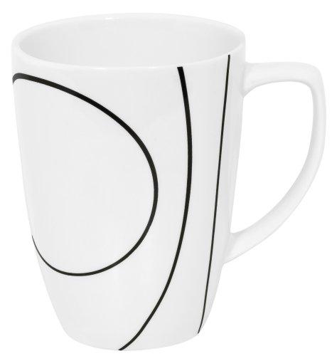 Corelle Square 12-Ounce Mug, Simple - Oz Square 12 Mug Corelle