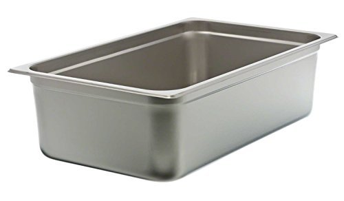 Update International NJP-1006 24-Gauge Stainless Steel Anti-Jam Steam Table Pan,