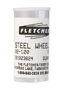 Fletcher Terry Glass Cutting Wheel, 10/Tube (02-120)