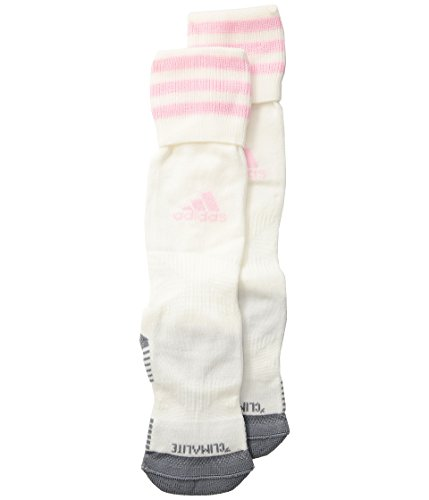 adidas Kids Unisex Copa Zone Cushion III OTC Sock (Toddler/Little Kids/Big Kids) White/Diva X-Small by adidas (Image #2)