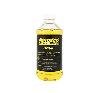 Motorvac 400-0020 - Carbonclean Mv3 Heavy Duty Fuel System Cleaning Detergent, 12 Pk.