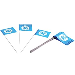 Educator FLAGS-50 Boundary Flags for E-Fence Underground Fence Containment System for Dogs, (Set of 50) Click on image for further info.