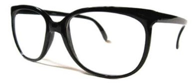 Clark Kent Glasses (6906/47 (Black) Clark Kent Nerd Glasses Clear Lens)