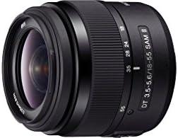 Sony Sal 1855 2 3 A Mount Lens Dt 18 55 Mm F3 5 To 5 6 Sam Ii Black