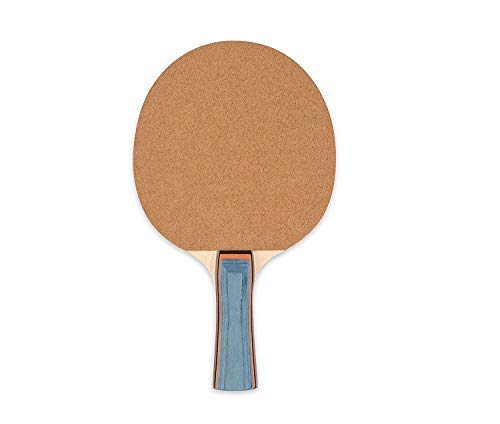 Champion Sports Sandpaper Face 5ply Laminated Table Tennis Ping Pong Paddle red (2-Pack) One Size