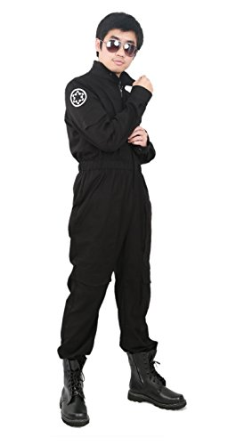 Cool Fighter Pilot Costume Deluxe Star Cosplay Wars Overall Custom Made L