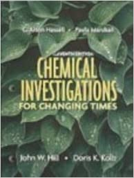 Book Chemical Investigations for Changing Times by C. Alton Hassell (2006-09-01)
