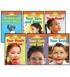 The Human Body Science Vocabulary Readers 6-Book Set: The Amazing Human Body, Your Brain, Your Eyes and Ears, Your Heart, Your Mouth and Nose, and Your Skin and (Skin And Bones Set)