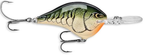 Rapala Dives-To 06 Fishing lure, 2-Inch, Olive Green Craw
