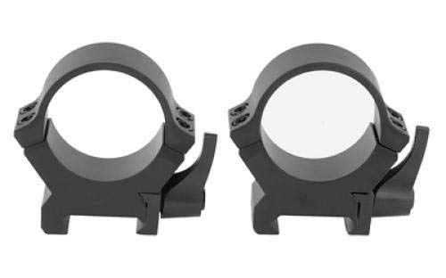 Leupold QRW2 Quick Detach 30mm Medium Scope Rings, Matte Black - 174076