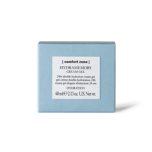 [ comfort zone ] Hydramemory Cream Gel, Simple Hydrating Gel Cream with Macro-Hyaluronic Acid, Gel Moisturizer for Face, Suitable for All Skin Types, 2.13 Ounce