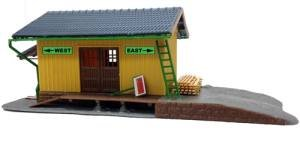 Model Power 202 Small Freight Station Kit HO