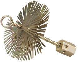 Silverline 417961 - Cepillo de alambre en forma de espiral (100 mm)