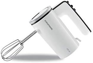 Grundig HM 6840 - Batidora de mano (4 velocidades, 425 W), color blanco y negro: Amazon.es: Hogar