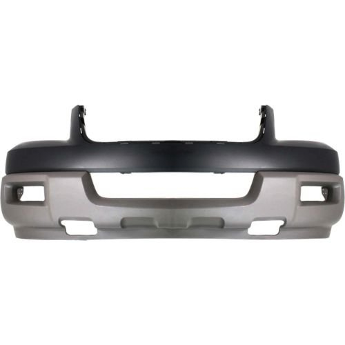 Perfect Fit Group F010331 - Expedition Front Bumper Cover, Upper And Lower, Titanium, W/ Absorber, Xlt Model Ford Expedition Lower Bumper