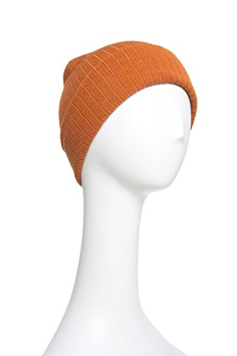 Timberland Men's Ribbed Heather Watchcap - Burnt Orange