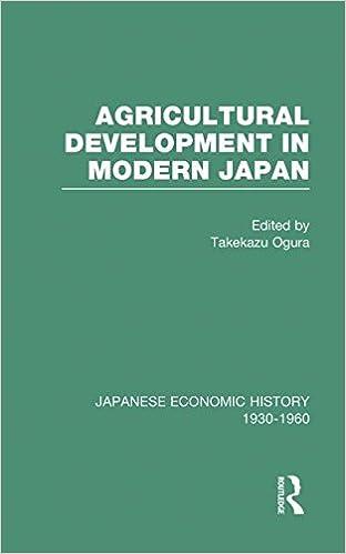Kostenloser ibooks Download für das iPad Agricult Dev Modern Japan  V 6 (Japanese Economic History, 1930-1960, V. 6) PDF RTF 0415218217 by Takekazu Ogura