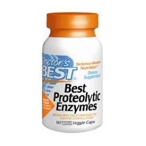 Doctor's Best Proteolytic Enzymes, 90 Count