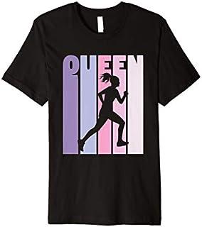 [Featured] Vintage Running Queen Marathon Runner Gift Girls Running Premium in ALL styles | Size S - 5XL