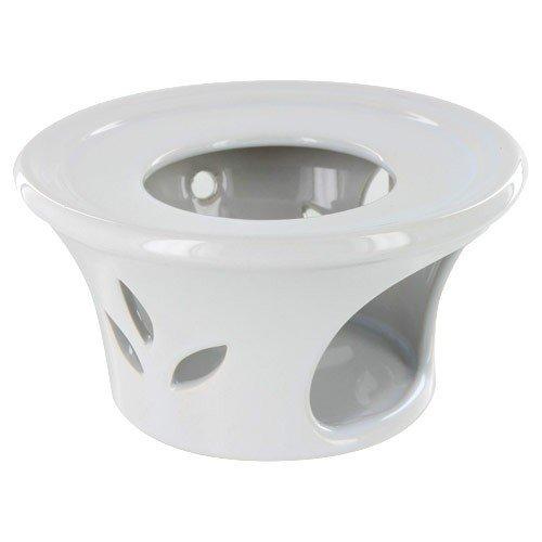 Metropolitan Tea White Ceramic Teapot Warmer