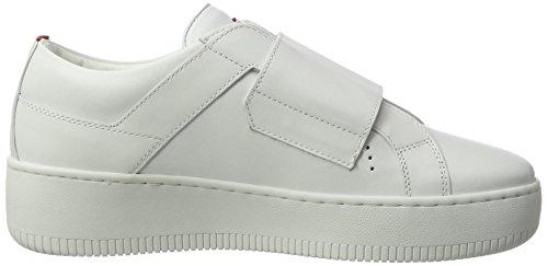 HUGO Damen Mariel 10201909 01 Sneaker Weiß (White)
