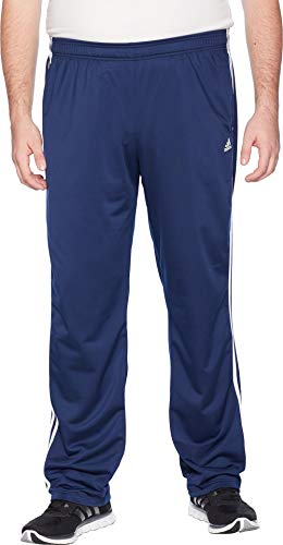 adidas Men's Big & Tall Essentials 3-Stripes Regular Fit Tricot Pants Collegiate Navy/White 1 Large 34 Tall 34 by adidas (Image #3)