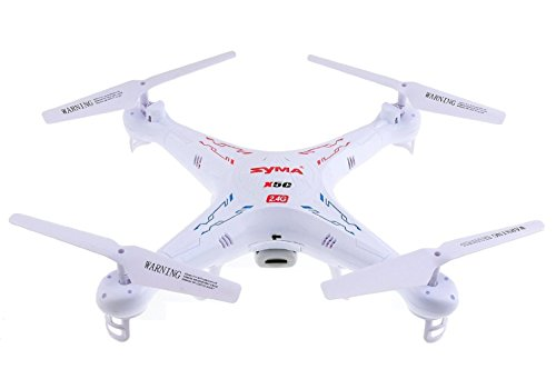 SYMA X5C 2.4G 6 Axis Gyro HD Camera RC Quadcopter with 2.0MP Camera by Syma