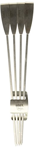 Weber 6726 Style Stainless Steel Skewer Set