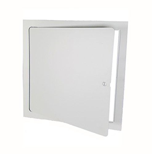 Premier FL-8 x 8 Flush Access Door, Steel, Powder Coated (Flange Door Panel)