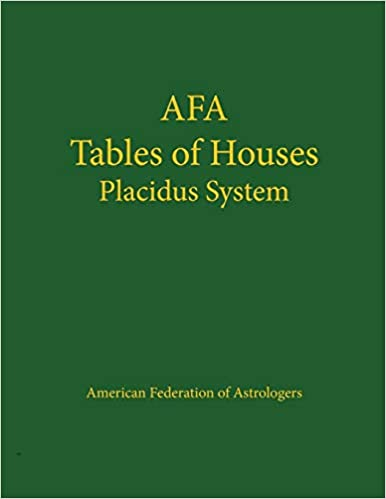 of placidus houses pdfs table