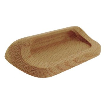 Oak Drawer Pull (FT31703-102-20 - 96mm C/C Unfinished White Oak Pull)